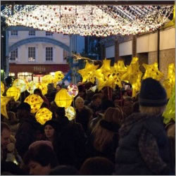 Greenwich Lantern Parade and Christmas Lights On
